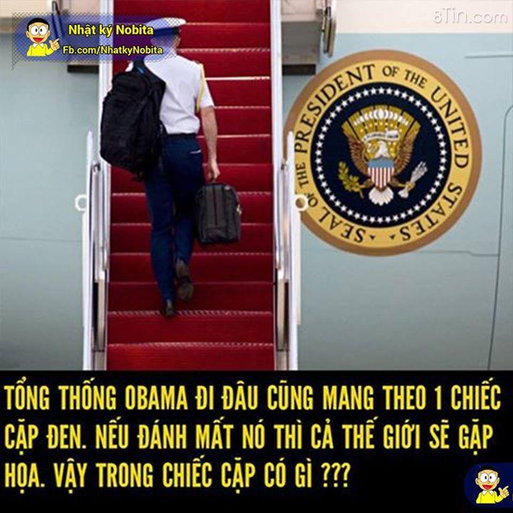 """""""Vật bất ly thân"""" của tổng thống Obama có gì đặc biệt?"""