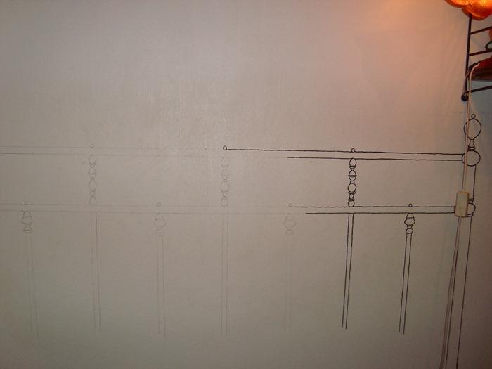 Desenho na parede