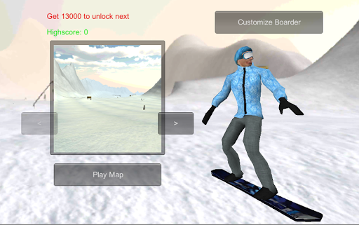 Snowboard Extreme 3D