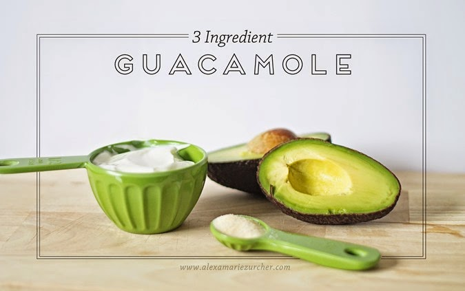 3 Ingredient Guacamole