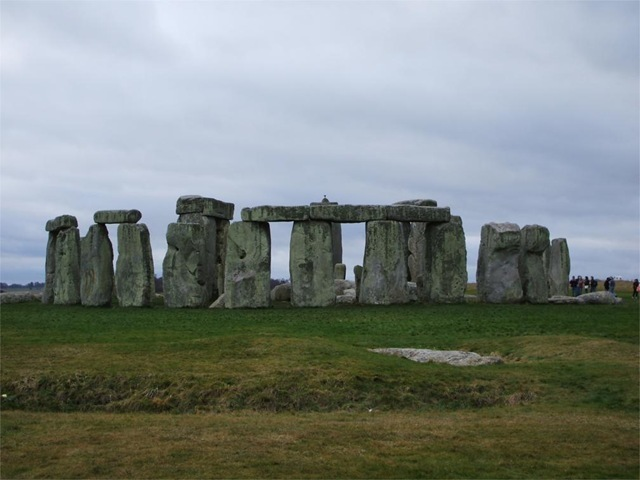 Stonehenge - the north eastern face