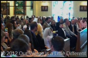 crowded church