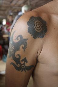 Rosa del Borneo tattoo