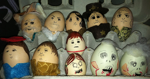 oeufs de pâques the walking dead