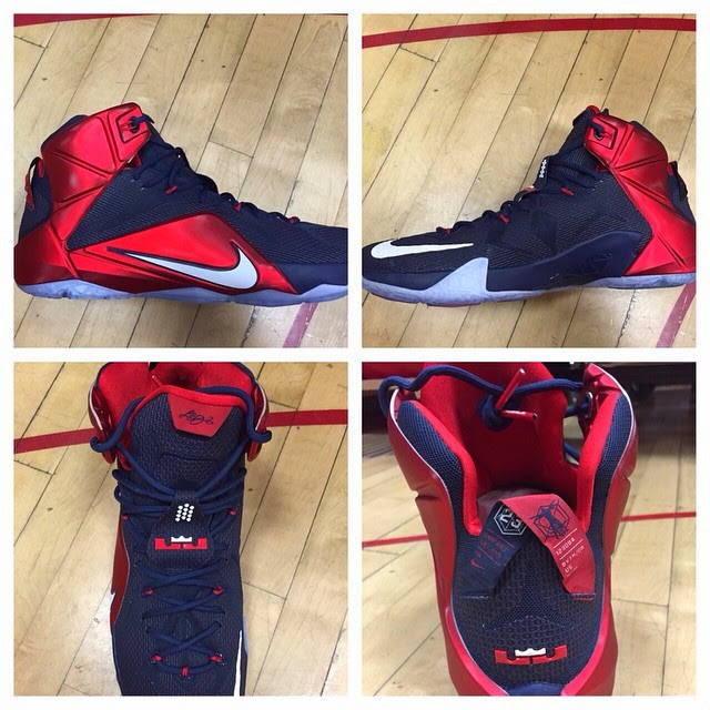 finest selection 96538 3b4da ... 12 PE ... college nike lebron lebron james news shoes basketball part 4 closer  look .