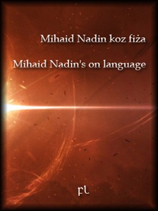 Mihaid Nadin's on language Cover