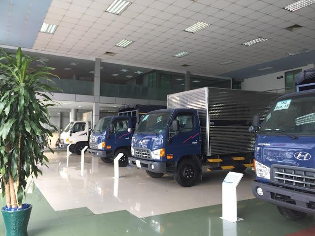 Showroom bán hàng xe tải Hyundai Bắc Việt