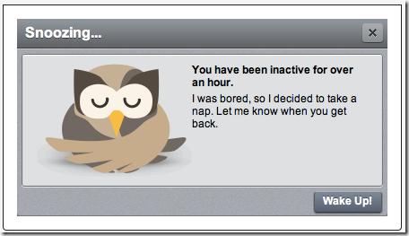 Cartel de inactividad