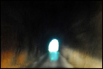 02b -  Nada Tunnel Narrow and Dark