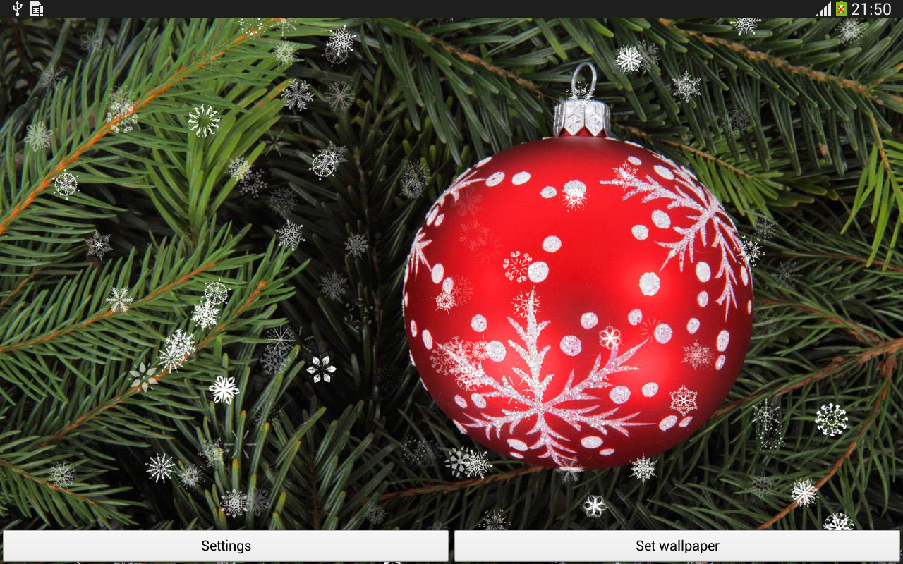 christmas live wallpaper android apps on google play