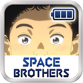 Space Brothers Battery Widget