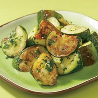 Roasted Zucchini and Pesto Recipe