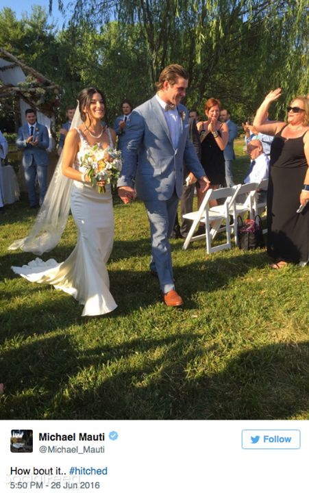 NFL Jerseys Sale - Michael Mauti got married this weekend Check out more Saints ...