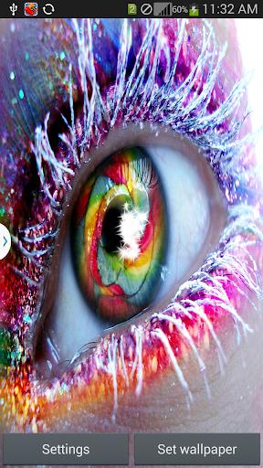 Note 4 Eye Live Wallpaper