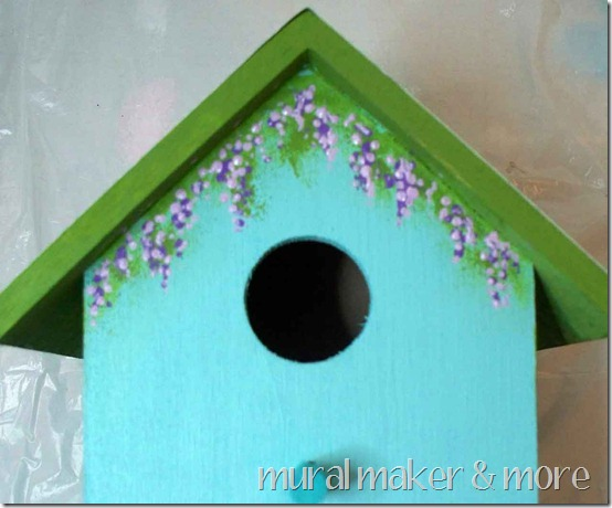 Painted Flower Garden Birdhouse Tutorial Diy Talent