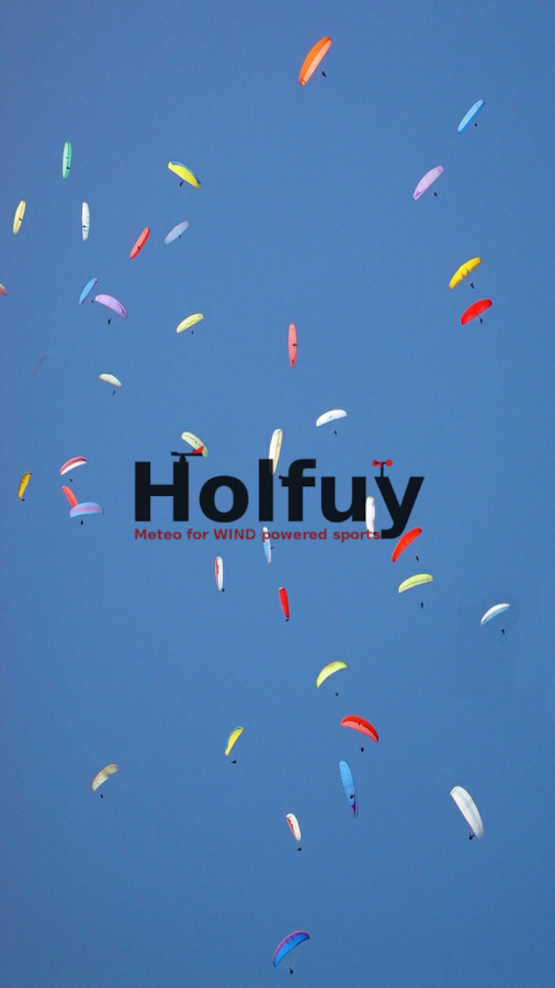 Holfuy Live – Screenshot