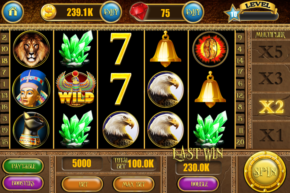 Lucky Pharaoh Slot Machine - Play Online for Free Instantly