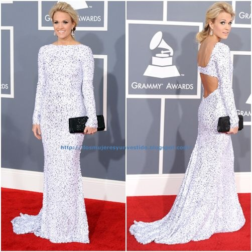 Carrie Underwood arrives at the 54th Annual GRAMMY Awards (4)