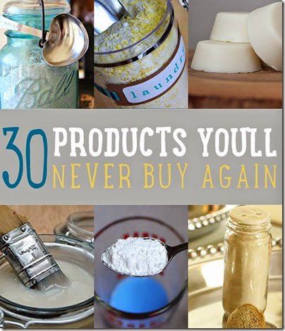 Organic Shampoo - You have 2 choices: Buy it from a convenient online company where we buy all our toiletries OR make it yourself. Here are 30 household items you can EASILY make yourself