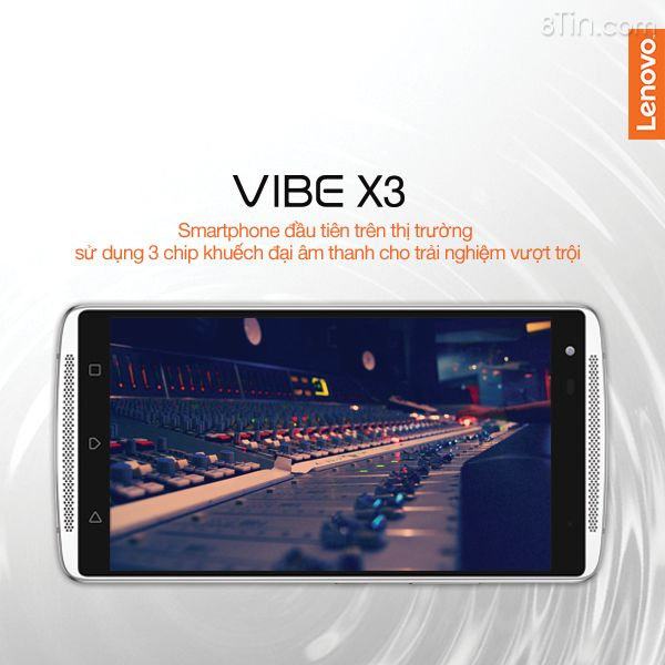 Bạn có biết VIBE X3 là chiếc điện thoại đầu tiên trên