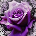 3D Roses logo