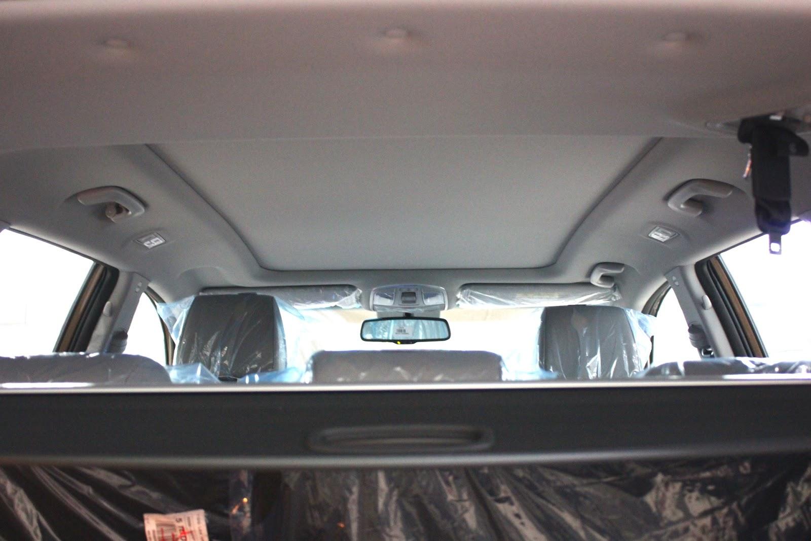 Nội thất xe Hyundai Tucson 5 chỗ màu nâu 07