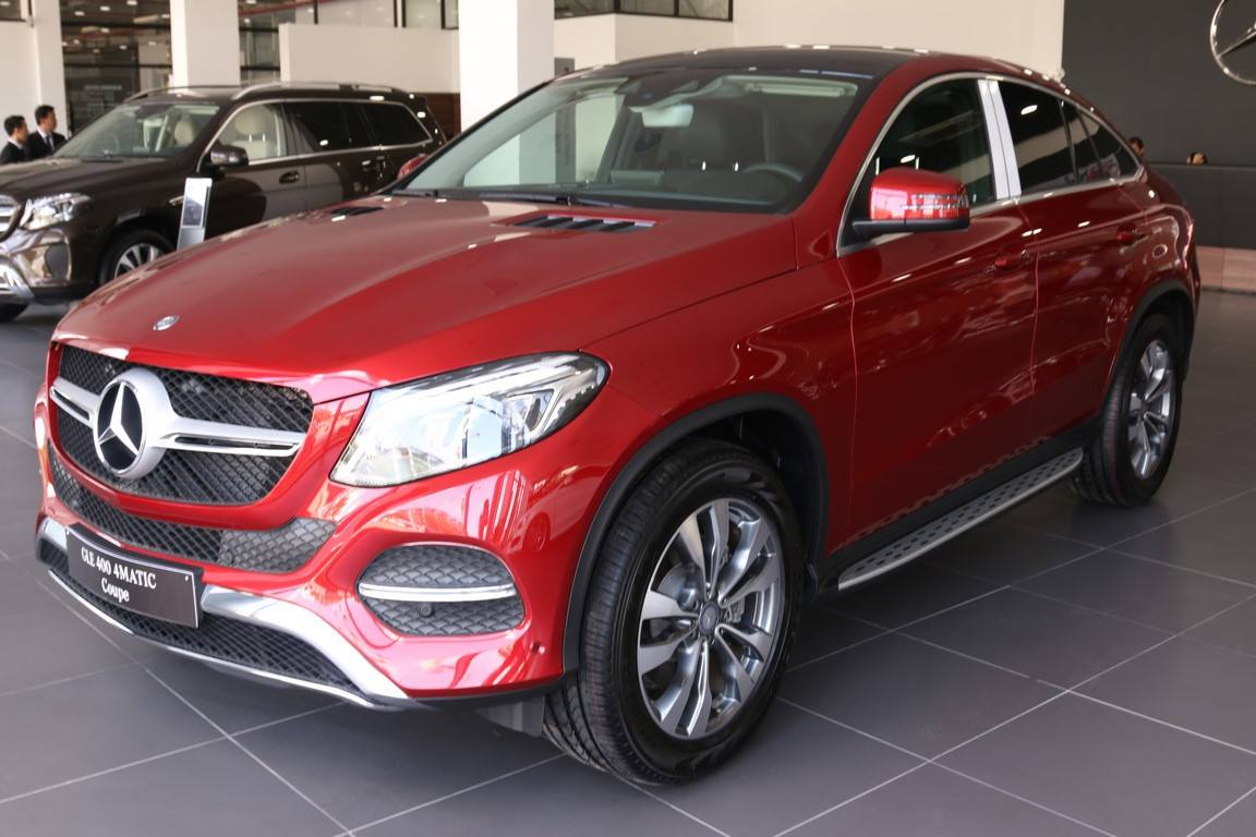 Mercedes Benz GLE 400 Coupe thế hệ mới ra mắt 01