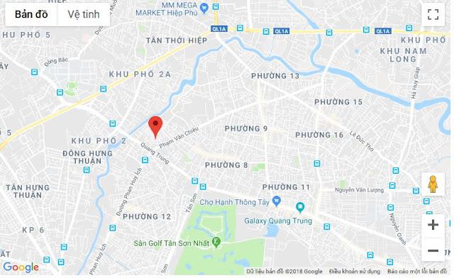 Bán nhà hẻm Phạm Văn Chiêu Quận Gò Vấp