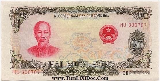 20 Đồng Việt Nam Dân Chủ 1969