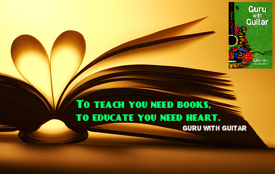 teach_books_educate_heart_quote_guru_with_guitar_vikrmn_tune_play_repeat_chartered_accountant_ca_author_srishti_vikram_verma_tpr_Kuwait