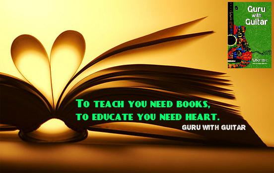 teach_books_educate_heart_quote_guru_with_guitar_vikrmn_tune_play_repeat_chartered_accountant_ca_author_srishti_vikram_verma_tpr_Kuwait