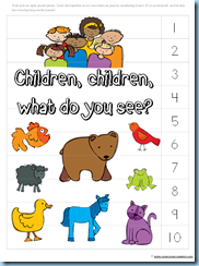 image about Brown Bear Brown Bear Printable Book Pdf named Brown Undertake, Brown Undertake Printables ~ Up to date! - 1+1+1\u003d1