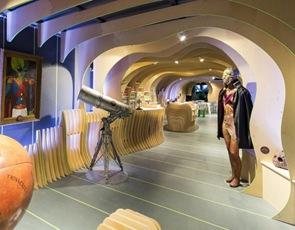 arquitectura e iluminacion Embajada de Marte arquitectos LAVA