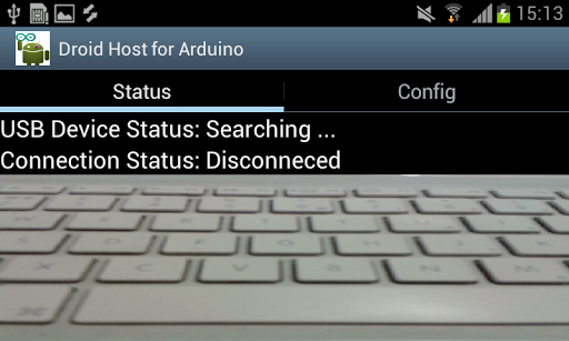 Droid Host for Arduino