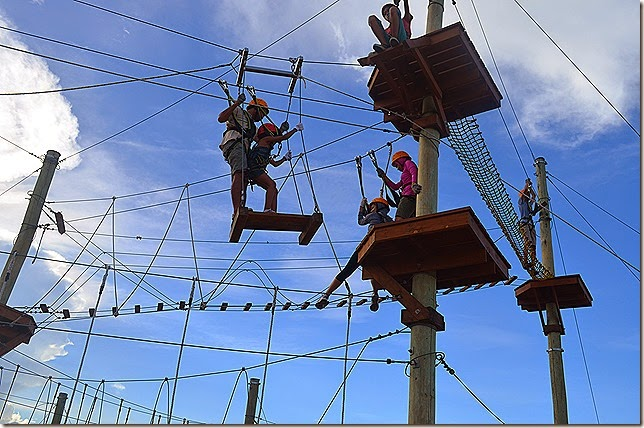 The Aerial Walk at Sandbox, Alviera, Porac, Pampanga