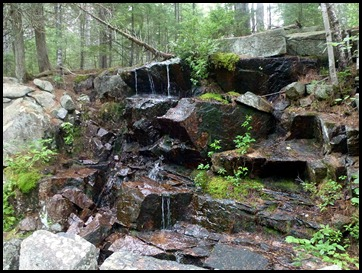 14c - little waterfall along bubble pond trail