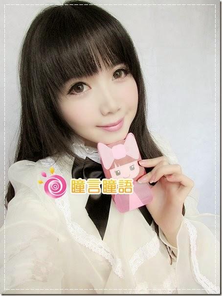 華子分享-geo berry holic 混血三色咖 撲朔迷離大美目