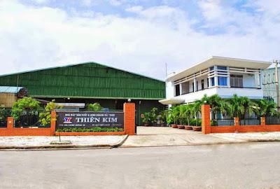 Hình ảnh nhà máy thép Miền Nam