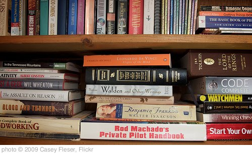 'Books (118 / 365)' photo (c) 2009, Casey Fleser - license: http://creativecommons.org/licenses/by/2.0/