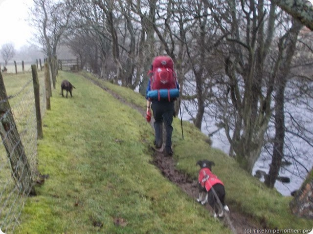 heading back on the pennine way