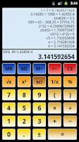 Screenshot of Scientific Calculator 3