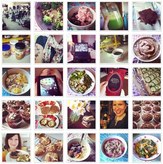 Instas from April
