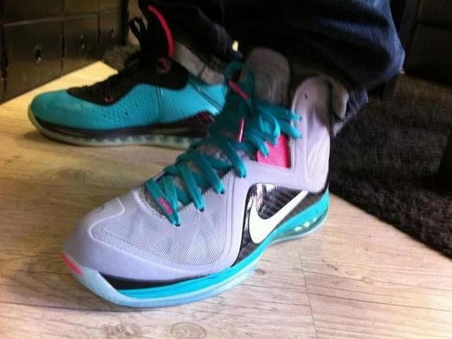 promo code e462e fa037 Nike LeBron 9 PS Elite 8220South Beach McFly8221 New Images ...