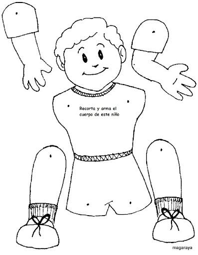 Marioneta Cuerpo Humano Imagui