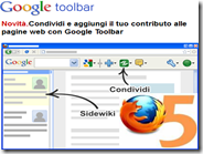 Come far funzionare la Google Toolbar su Firefox 5