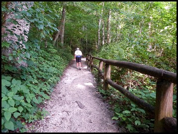 02 -Heading up the trail