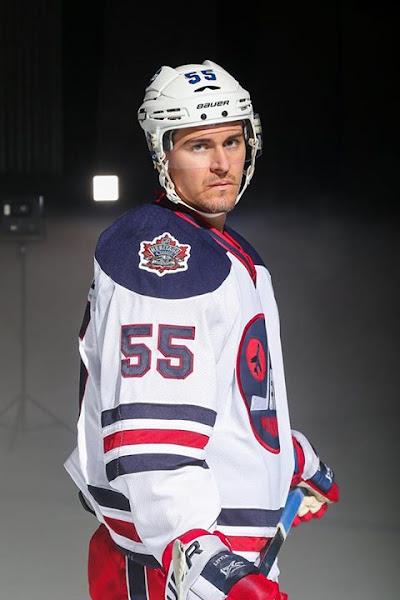 2016 Winnipeg Jets Heritage Classic Promo Photo Shoot