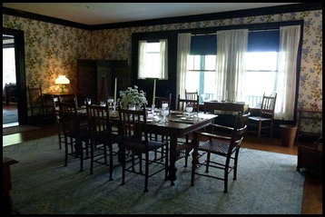 2d - Roosevelt Cottage - dining room