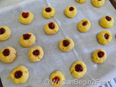 Dec 7 Coconut Flour Thumbprint cookies 003