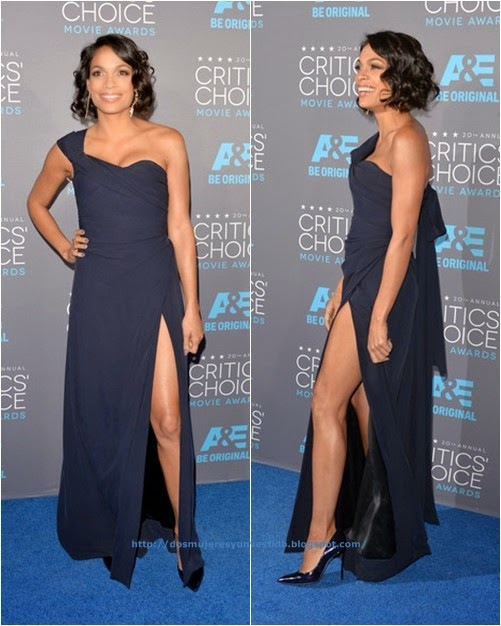 Rosario Dawson attends the 20th annual Critics Choice Movie Awards